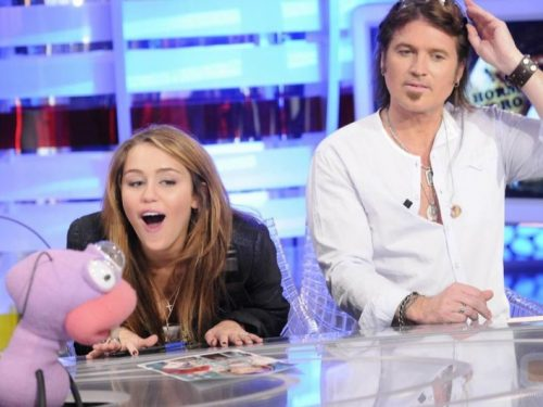 MIley Hormiguero billy ray